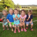 Kinder auf dem Oberhof