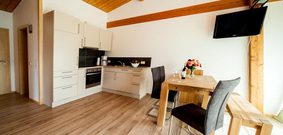 Sonnhof-Ferienwohnung-Küche