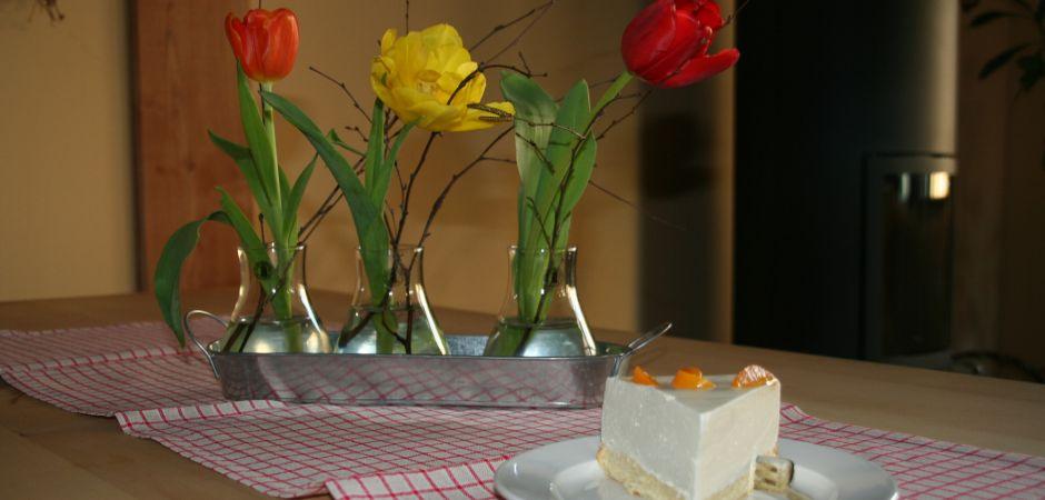 Vogler2-Kuchen mit Blumen