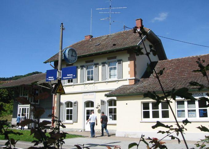 Sipplingen Bahnhof