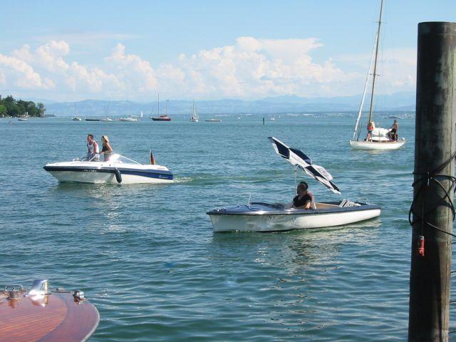 Boote auf dem Bodensee