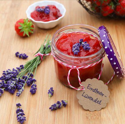 Erdbeer und Lavendel